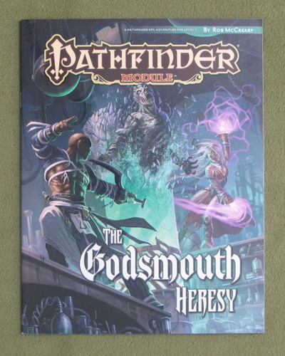 Image for The Godsmouth Heresy (Pathfinder Module)