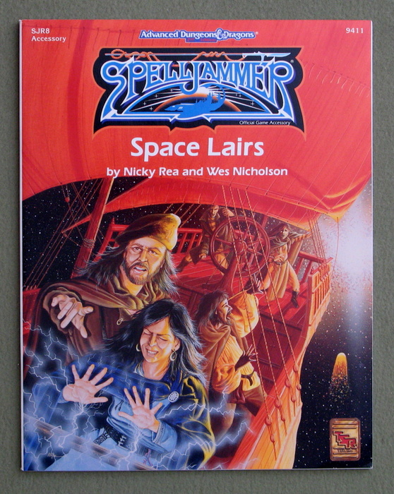 Image for Space Lairs (Advanced Dungeons & Dragons/Spelljammer Accessory SJR8)