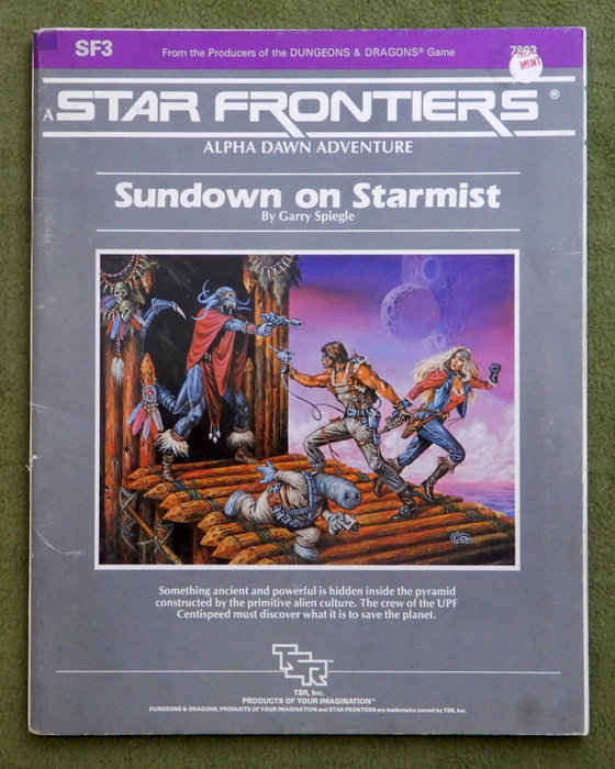 Image for Sundown on Starmist (Star Frontiers Module SF3) - PLAY COPY