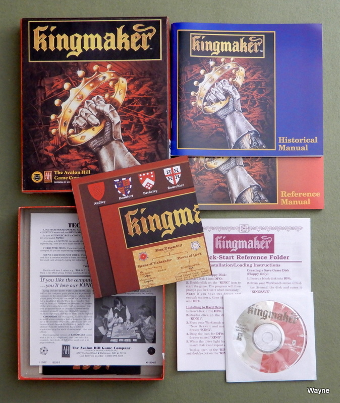 Image for Kingmaker (PC CD-ROM)