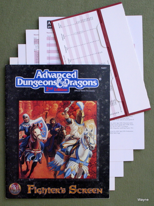 Image for Fighter's Screen (Advanced Dungeons & Dragons, 2nd Edition)