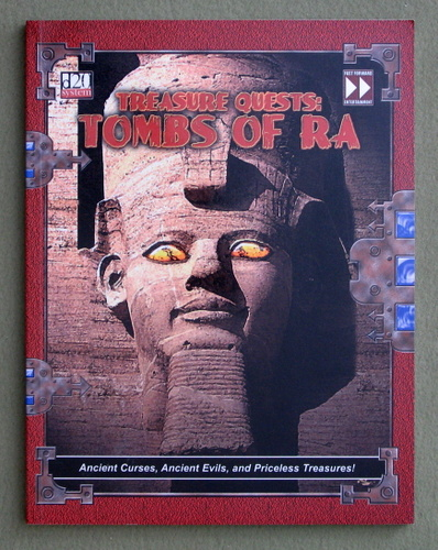 Image for Treasure Quests: Tombs of Ra (Dungeons & Dragons: D20 System)