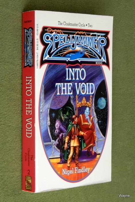 Image for Into the Void (Spelljammer: Cloakmaster Cycle, Book 2)