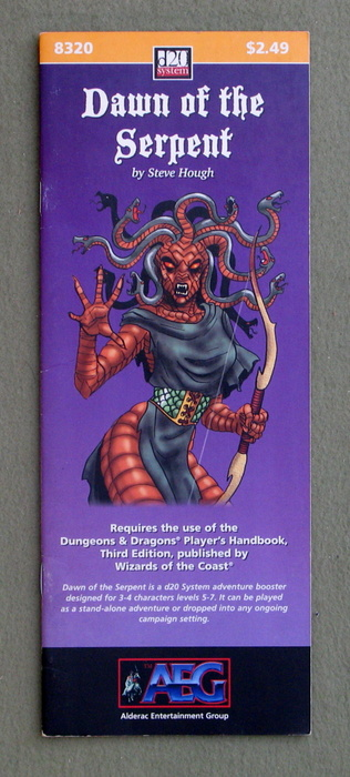 Image for Dawn of the Serpent (Dungeons and Dragons, 3rd Edition: D20 System)