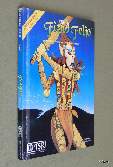 Image for Fiend Folio: Tome of Creatures Malevolent and Benign (Advanced Dungeons and Dragons)