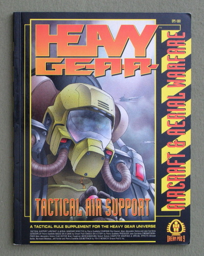 Image for Tactical Air Support: Aircraft & Aerial Warfare (Heavy Gear)