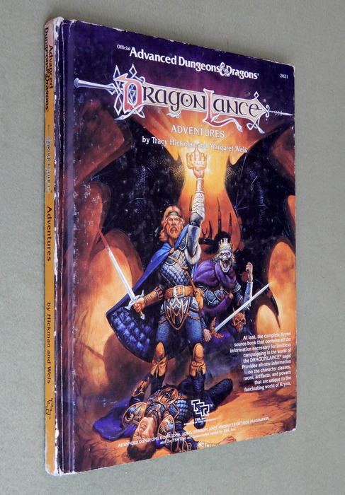 Image for Dragonlance Adventures (Advanced Dungeons and Dragons) - PLAY COPY