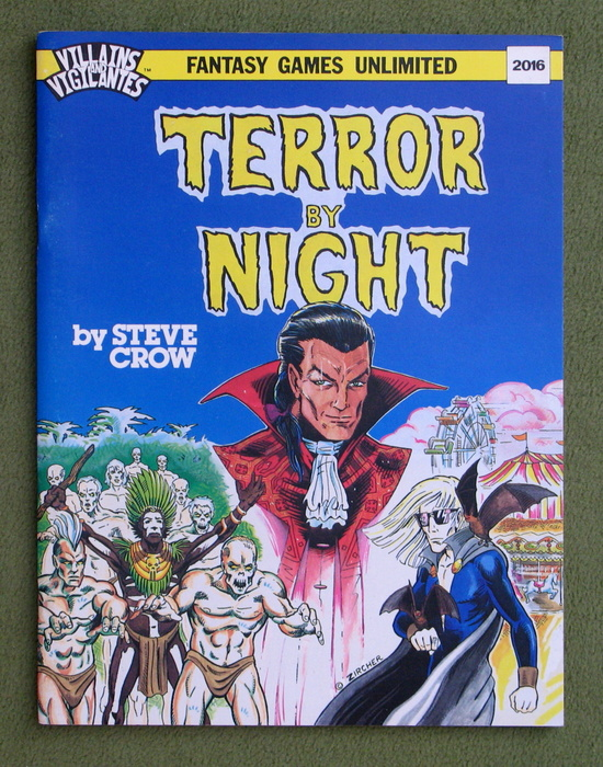 Image for Terror By Night (Villains & Vigilantes)