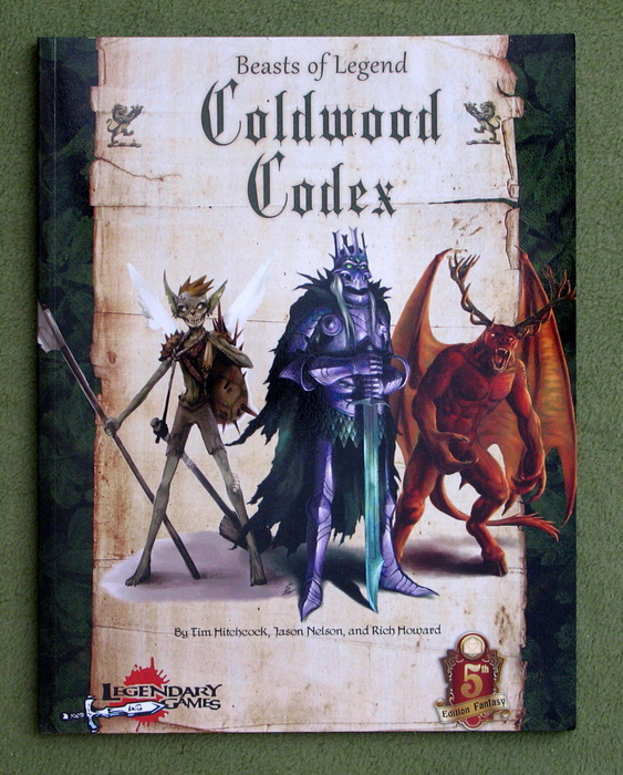 Image for Coldwood Codex: Beasts of Legend (Dungeons & Dragons, 5th Edition)