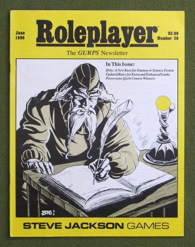 Image for Roleplayer, Number 20: The GURPS Newsletter (Magazine)