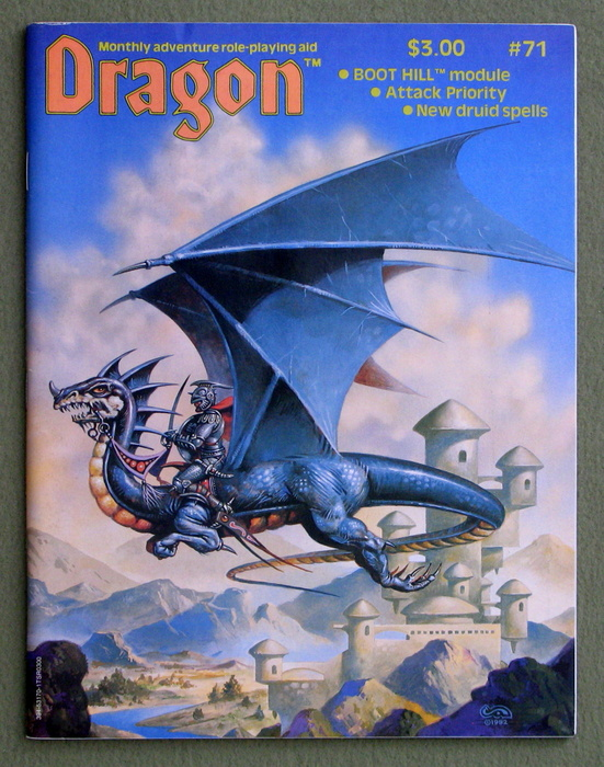 Image for Dragon Magazine, Issue 71