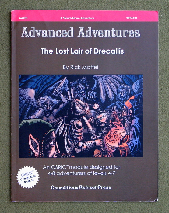 Image for The Lost Lair of Drecallis (Advanced Adventures)