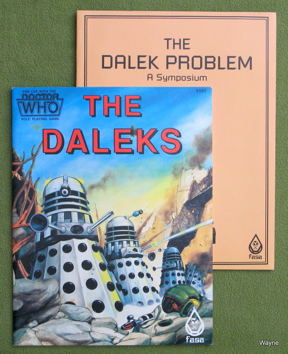 Image for Daleks (Doctor Who RPG: 2 Book Set)