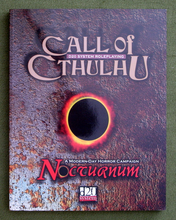Image for Nocturnum (Call of Cthulhu D20)