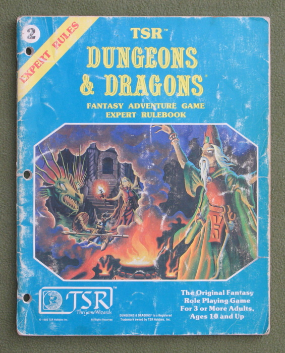 Image for Dungeons & Dragons: Expert Rulebook - HEAVY WEAR