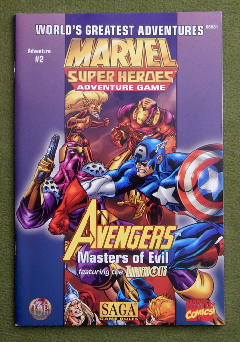 Image for Avengers: Masters of Evil (Marvel Super Heroes/SAGA Adventure #2)