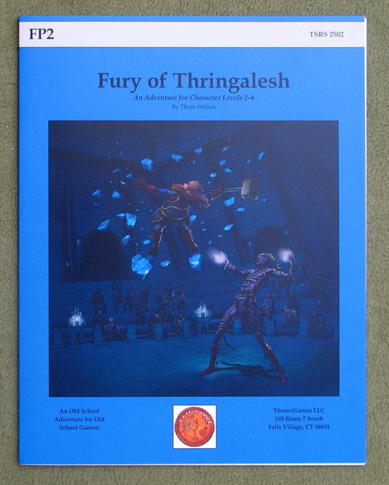 Image for Fury of Thringalesh (FP2: B/X Edition)