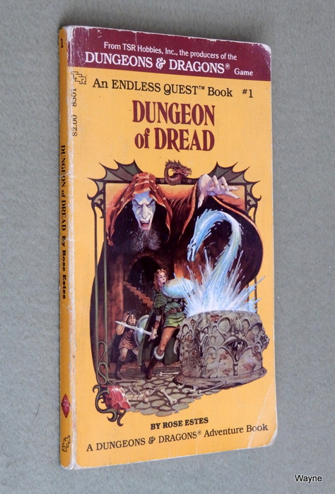 Image for Dungeon of Dread (Endless Quest Book 1: Dungeons & Dragons) - READING COPY