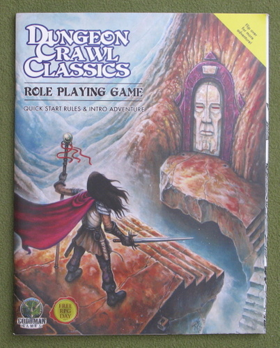 Image for Dungeon Crawl Classics: Quick Start Rules & Intro Adventure - Free RPG Day 2017