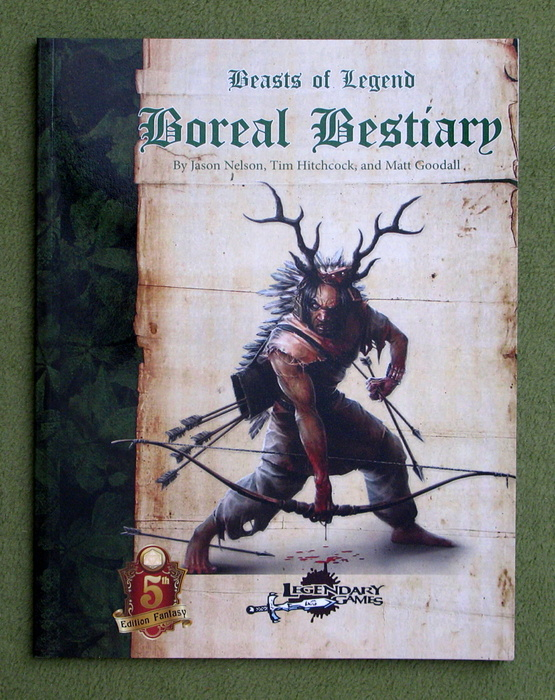 Image for Boreal Bestiary: Beasts of Legend (Dungeons & Dragons, 5th Edition)