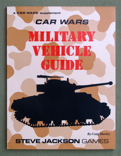 Image for Car Wars Military Vehicle Guide