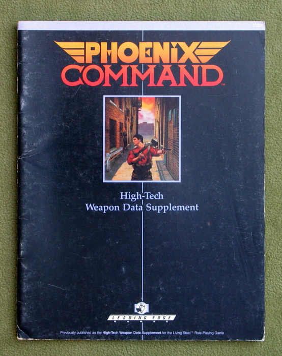 Image for Phoenix Command High-Tech Weapon Data Supplement - PLAY COPY