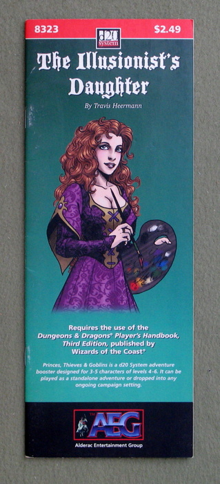 Image for The Illusionist's Daughter (Dungeons and Dragons, 3rd Edition: D20 System)