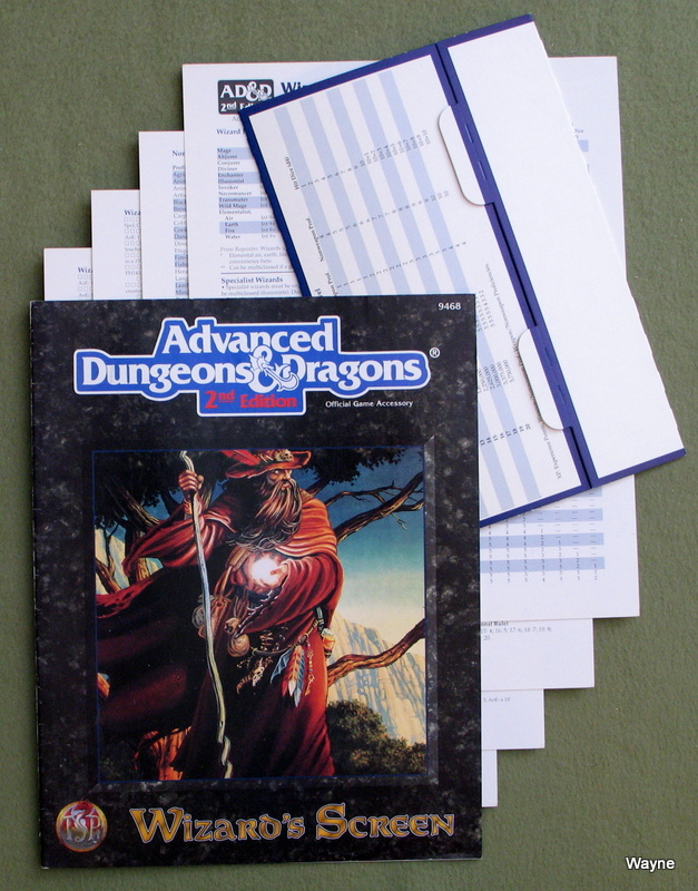 Image for Wizard's Screen/Screen and Reference Material (Advanced Dungeons & Dragons, 2nd Edition)
