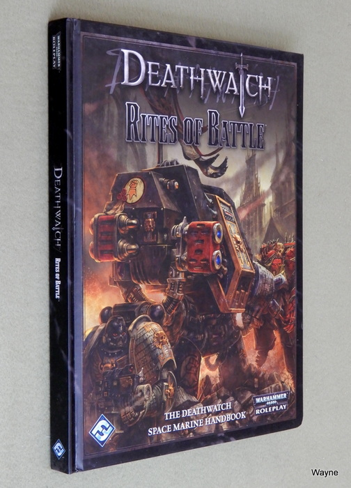 Image for Deathwatch: Rites of Battle (Warhammer 40,000 Roleplay)