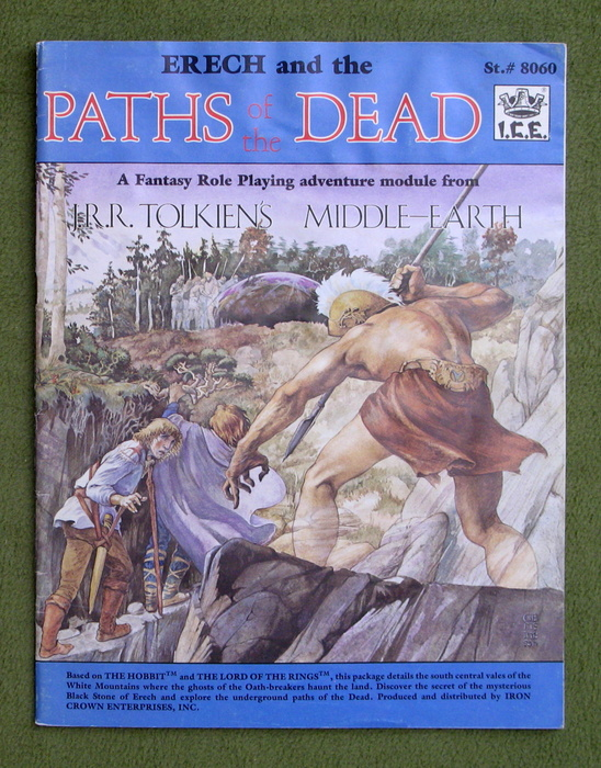 Image for Erech and Paths of the Dead (Middle Earth Role Playing/MERP) - WATER RIPPLING; PLAY COPY