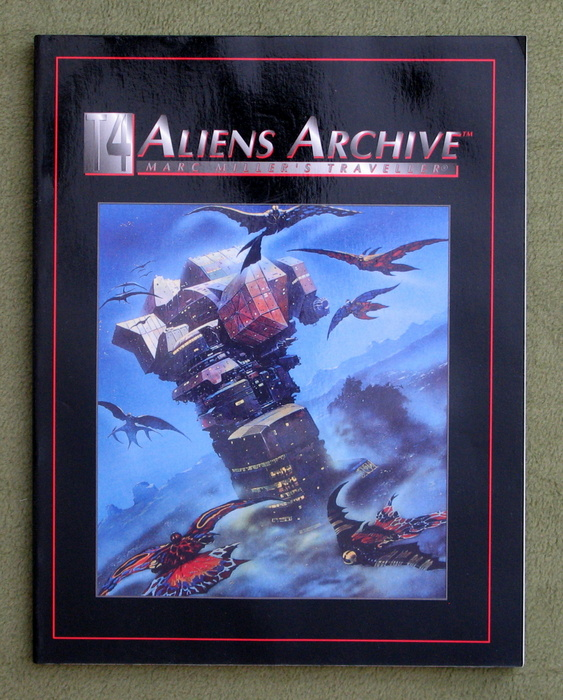 Image for Aliens Archive (Marc Miller's Traveller - T4)