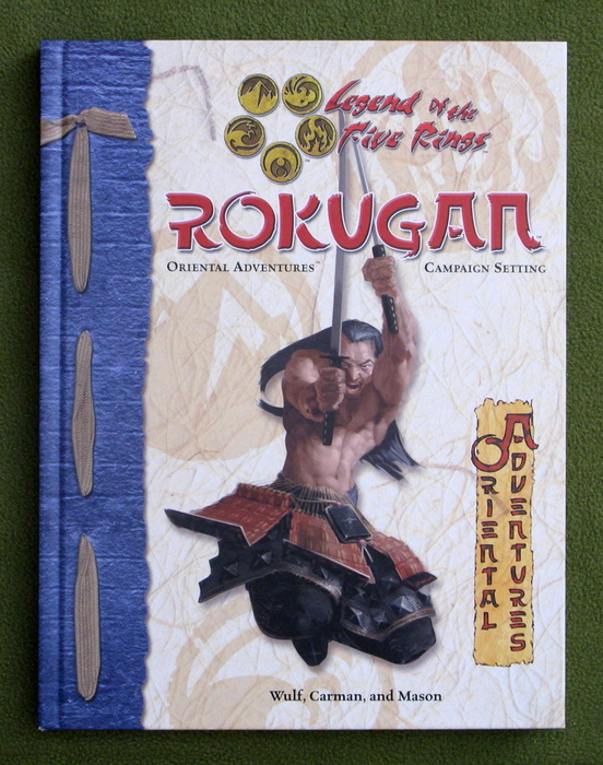 Image for Rokugan (Legend of the Five Rings: Oriental Adventures Campaign Setting)