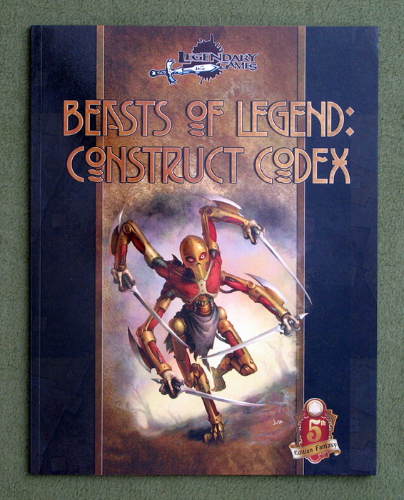 Image for Construct Codex: Beasts of Legend (Dungeons & Dragons, 5th Edition)