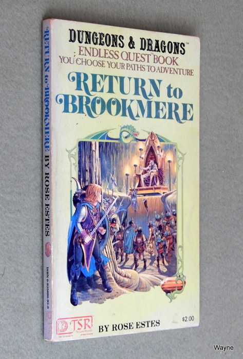 Image for Return to Brookmere (Endless Quest Book 4: Dungeons & Dragons) - 1ST PRINT