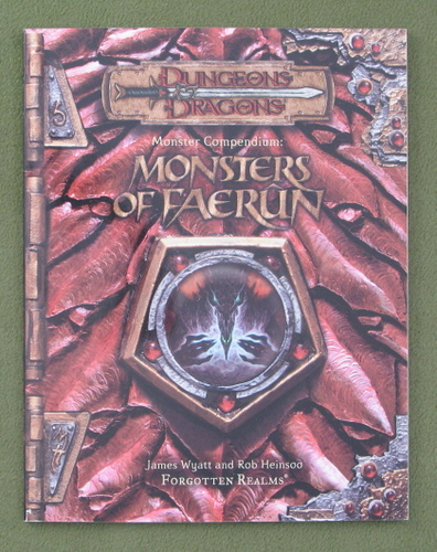 Image for Monsters of Faerun: Monster Compendium (Dungeon & Dragons d20 3.5 Forgotten Realms Roleplaying)