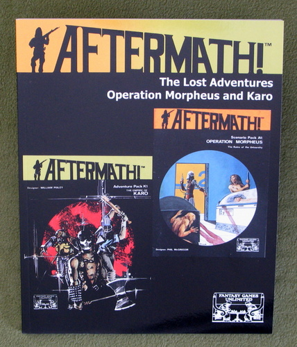 Image for Aftermath! The Lost Adventures: Operation Morpheus and the Empire of Karo