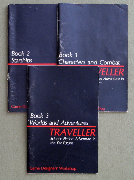 Image for Traveller Books 1-3: Core Rules - NO BOX - PLAY SET