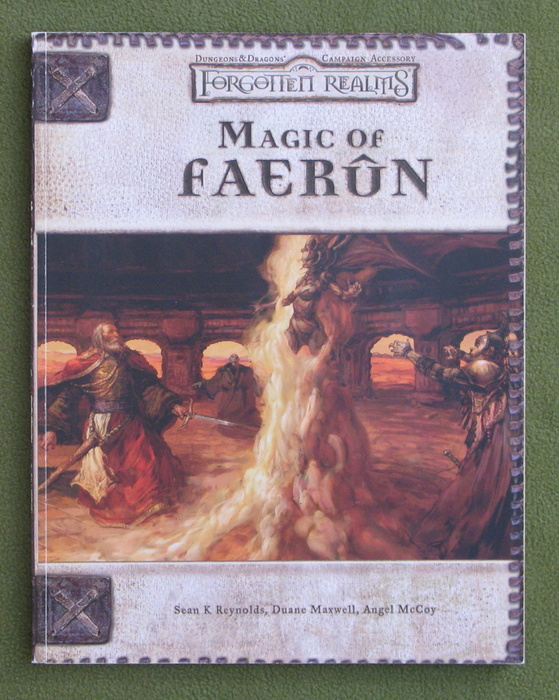 Image for Magic of Faerun (Dungeons & Dragons d20 3.0 Fantasy Roleplaying)