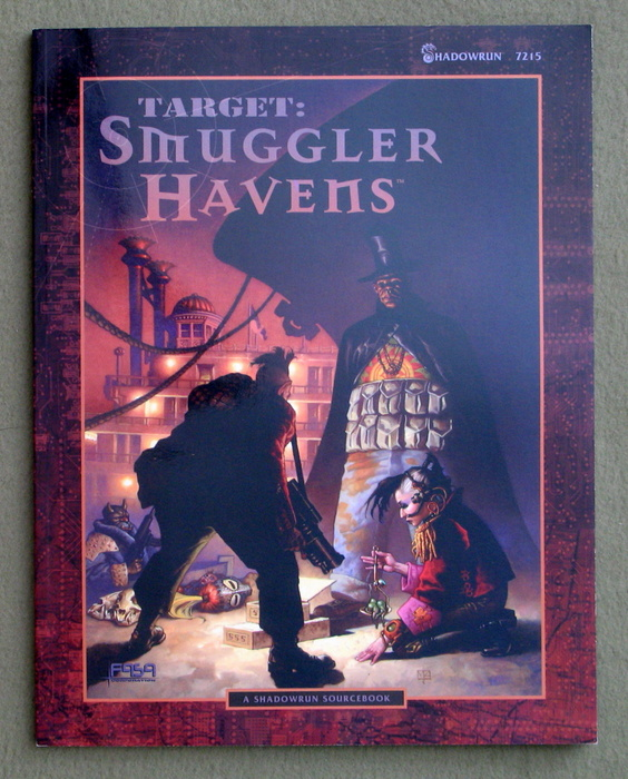 Image for Target: Smuggler Havens (Shadowrun)