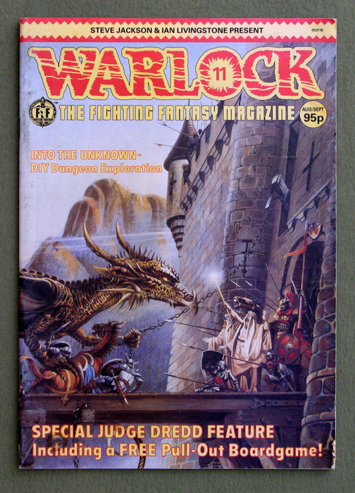 Image for Warlock #11: The Fighting Fantasy Magazine - READING COPY