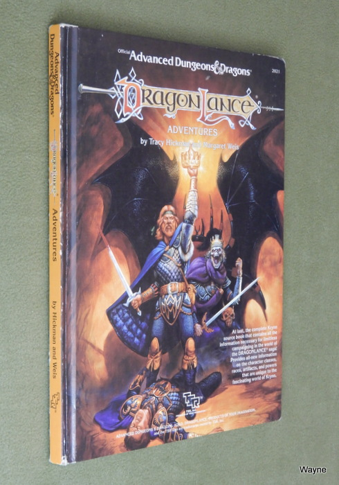 Image for Dragonlance Adventures (Advanced Dungeons and Dragons)