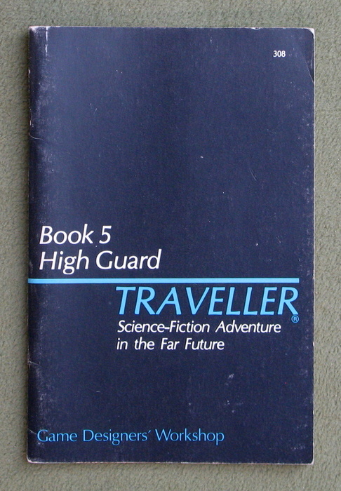 Image for Traveller Book 5: High Guard, 2nd Edition - PLAY COPY