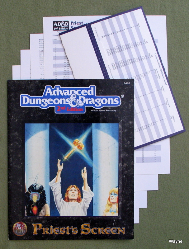 Image for Priest's Screen/Screen and Reference Material (Advanced Dungeons & Dragons, 2nd Edition)