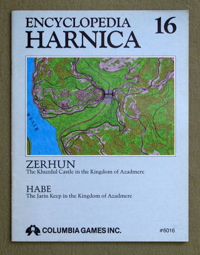 Image for Encyclopedia Harnica 16: Zerhun (Harn Fantasy RPG Setting)