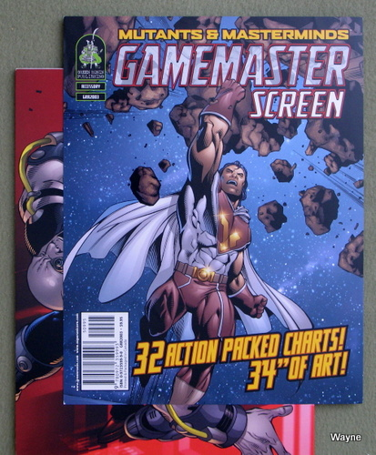 Image for Game Master's Screen (Mutants & Masterminds, 1st Edition)