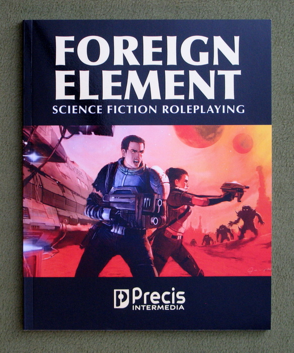 Image for Foreign Element: Science Fiction Roleplaying
