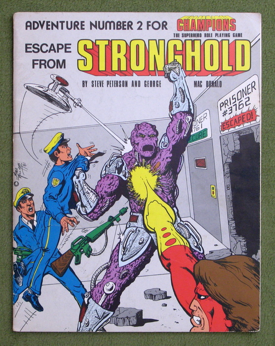 Image for Escape From Stronghold: Adventure Number 2 for Champions
