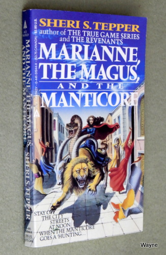 Image for Marianne, the Magus, and the Manticore