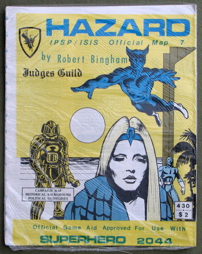 Image for Hazard: IPSP/ISIS Official Map 7 (Superhero 2044)