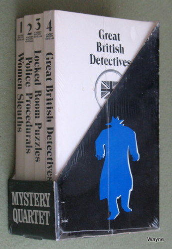 Image for Mystery Quartet (Women Sleuths / Police Procedurals / Locked Room Puzzles / Great British Detectives) [4 BOOK SET]